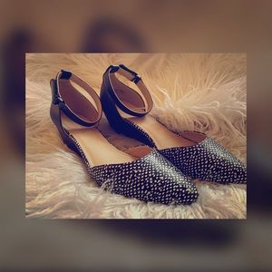 """NEW 1"""" Wedge with Ankle Strap NEW"""